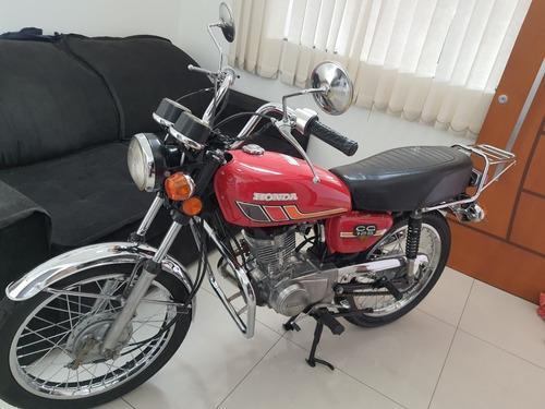 Honda Cg 125 Bolinha 1979 Reliquia!!!