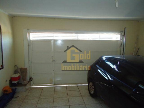 Casa Com 3 Dormitórios À Venda, 190 M² Por R$ 350.000 - Jardim Roberto Benedetti - Ribeirão Preto/sp - Ca1059