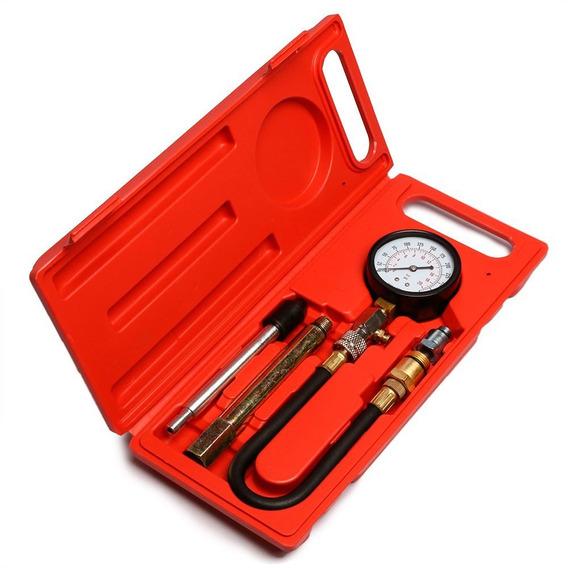 Medidor De Compressão 2 Em 1 Para Motores 8 E 16 V-fortgpro-