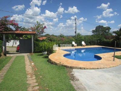 Chácara Com 4 Dormitórios À Venda, 1000 M² Por R$ 660.000 - Condomínio Santa Inês - Itu/sp - Ch0410