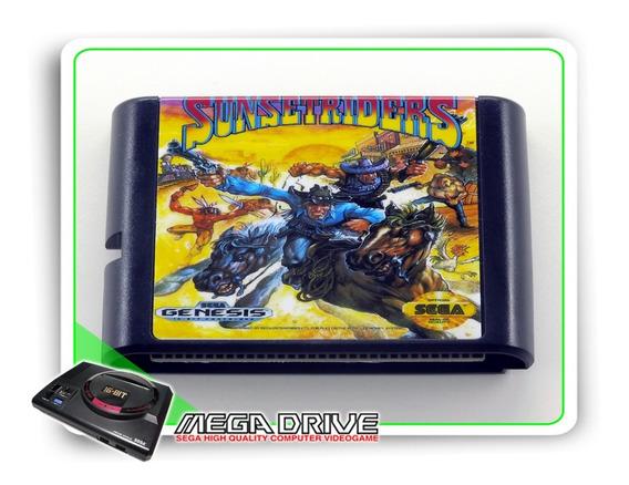 Sunset Riders Sega Mega Drive / Genesis - Novo