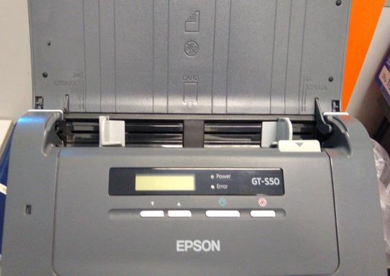 Scanner Epson Gt-s50 - Para Retirada De Peças , Com Fonte