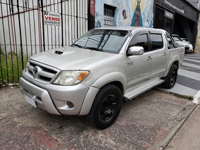 Toyota Hilux 3.0 Sr Cab. Dupla 4x2 4p 2006,troco,iveco,hr!!!