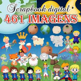 Scrapbook Digital Pequeno Príncipe - 461 Imagens To Tema