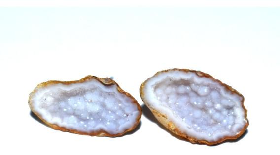Aretes Piedra Mini Geoda