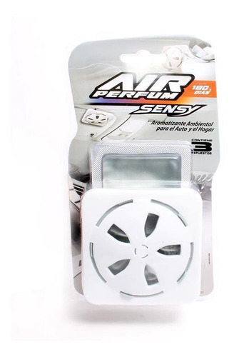 Imagen 1 de 5 de Air Perfum Sensy Aromatizante Con Difusor New Car