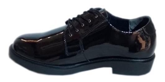 Zapato De Charol Hombre