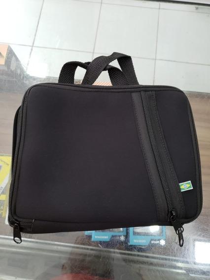 Capa Case Notebook 10 Polegadas Preta - Com Bolso