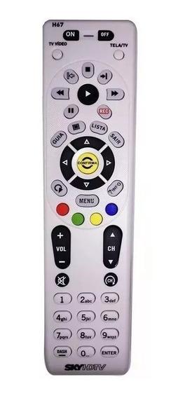 Kit 20 Controle Remoto Original Para Sky Hdtv Hd Plus +pilha
