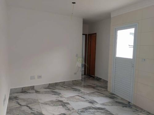 Apartamento Com 2 Dormitórios À Venda, 47 M² Por R$ 315.000,00 - Campestre - Santo André/sp - Ap1450