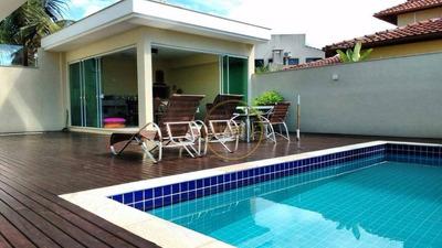 Jurerê Internacional / Casa Duplex Com Piscina / Moderna De Alto Padrão - Ca0059