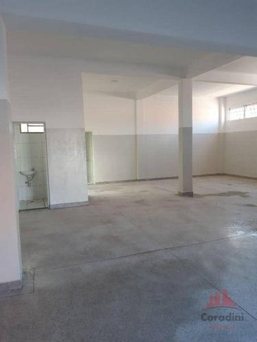 Imagem 1 de 7 de Salão Para Alugar, 100 M² Por R$ 3.000,00/mês - Centro - Nova Odessa/sp - Sl0409