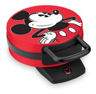 Disney Mickey Dcm-12 Maquina Para Waffles Waflera Niños
