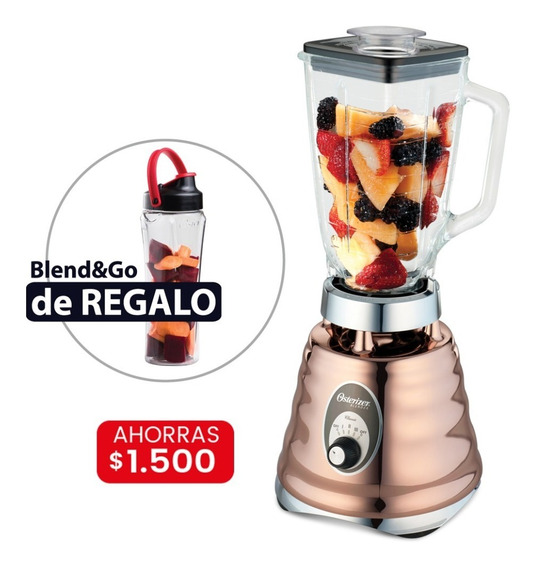 Licuadora Clásica Oster 4128 + Vaso Blend & Go De Regalo