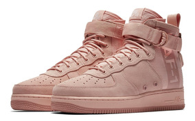 Tênis Nike Air Force 1 Special Field Mid Rose Suede