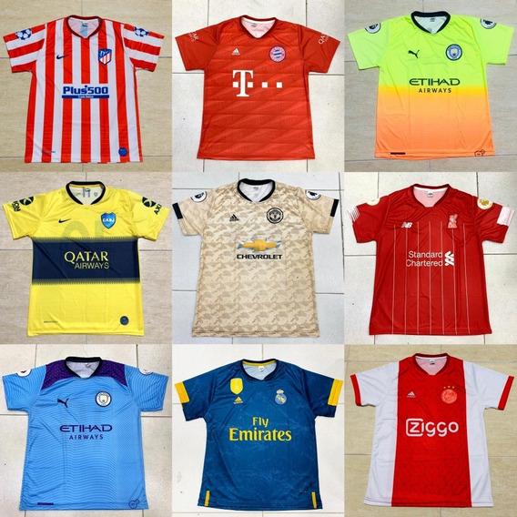 Kit 3 Camisas De Times