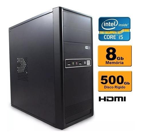 Computador Intel Core I5 8gb Ddr3 Hd 500 Sata