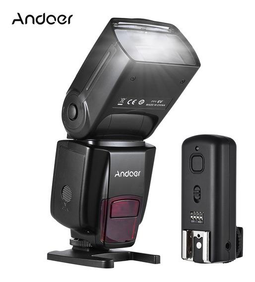 Flash Para Cámara Andoer Ad560 Iv Pro 2.4g Inalámbrico.