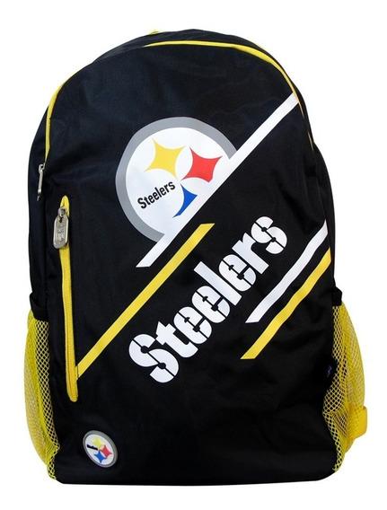 Mochila Nfl Steelers Pittsburgh Primaria Escolar Original