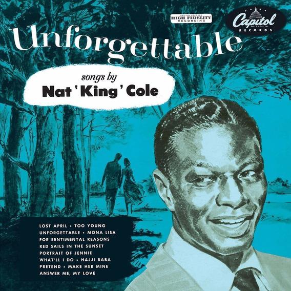 Nat King Cole Unforgettable Vinilo Nuevo Importado