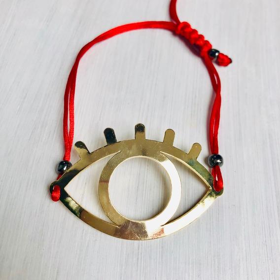 Pulsera Hilo Rojo, Evil Eye, Eyelashes, Ojo