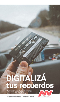 Digitalizamos Cassettes De Audio A Mp3