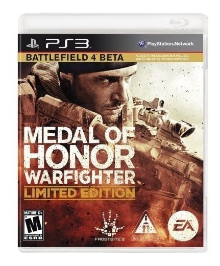 Ps3 - Medal Of Honor Warfighter - Midia Fisica (original)