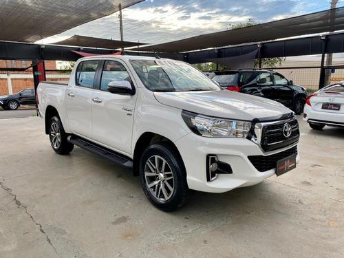 Toyota Hilux Srv 4x2 2.7 16v Flex Ano 2020 Impecável