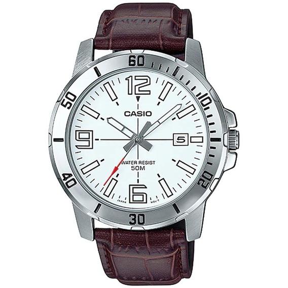 Relógio Casio Masculino Mtp-vd01l-7bvudf Com Nf