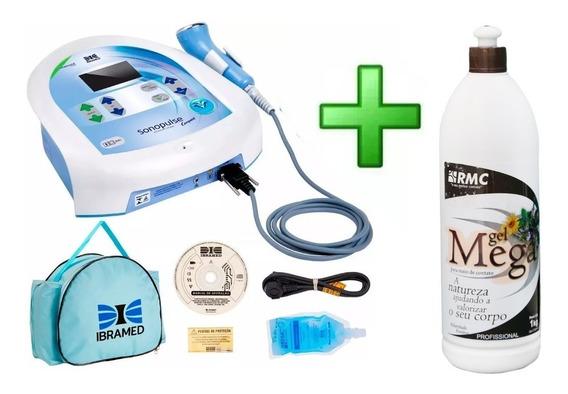 Ultrassom Ibramed Sonopulse Compact 3 Mhz + Gel Brinde