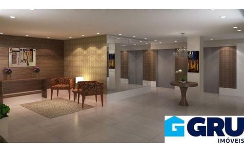 Apartamentos Em Guarulhos De 58 E 59m². 2 Dormitórios Com Suíte E Terraço Com Churrasqueira.