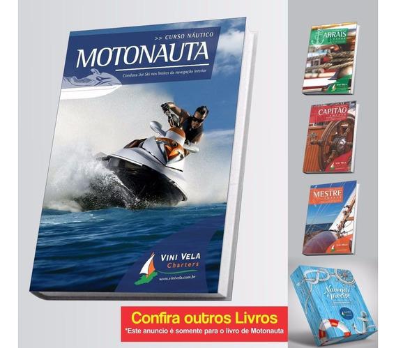 Livro Motonauta Para Pilotar Jet Ski, Moto Aquatica