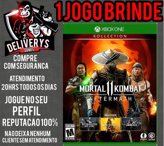 Mortal Kombat 11 Aftermath Xbox One Midia Digital