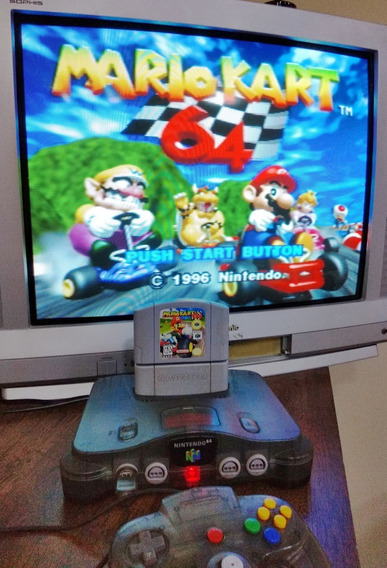 Mario Kart 64 + Converter Jogo Cartucho Nintendo 64 N64
