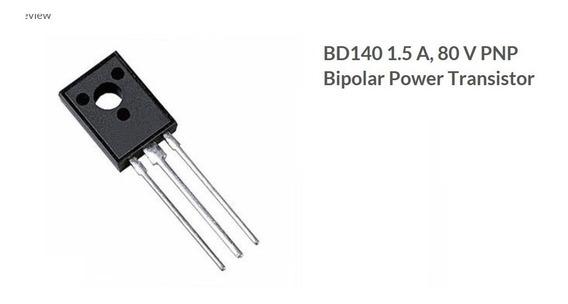 Transistor Bd 140 (10 Unidades)
