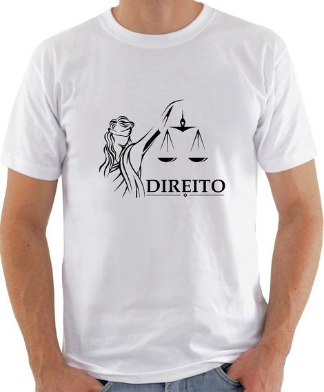 Camisa Cursos Profissões - Direito