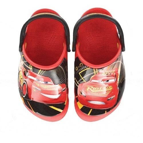 Sandália Crocs Funlab Lights Cars 3 Infantil Acende Ao Pisar