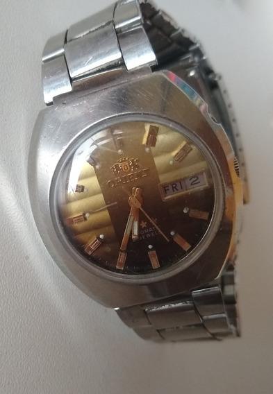 Relógio Masculino Orient 3 Estrelasaj469603-6j Pr