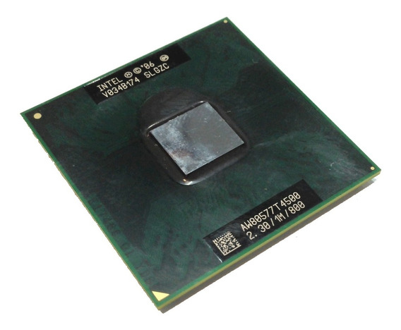 Processador 2.3ghz Intel Mobile Dual Core T4500 Slgzc 1m 800