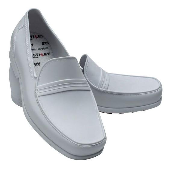 Sapato Social Antiderrapante Feminino Sitcky Shoe Original