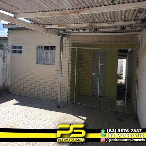Casa Com 3 Dormitórios À Venda Por R$ 200.000 - Cuiá - João Pessoa/pb - Ca0554