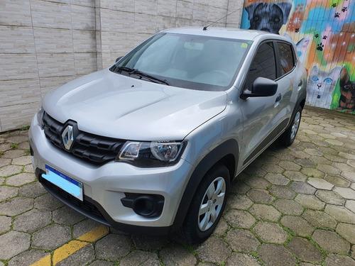 Renault Kwid Zen 2019 Prata