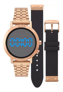 Relógio Euro Troca Pulseira- Eubj3407ac/t4p