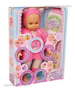 Bebe Muñeca Nueva Interactiva Juguete Para Nena Importada