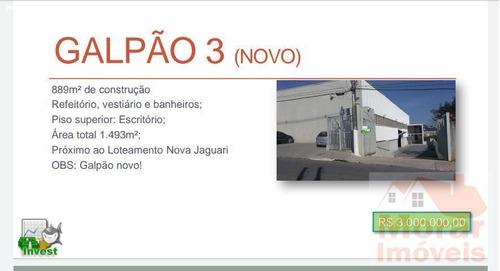 Imagem 1 de 8 de Galpão Para Venda Em Santana De Parnaíba, Chácara Do Solar Ii (fazendinha) - Sd62_2-1193564
