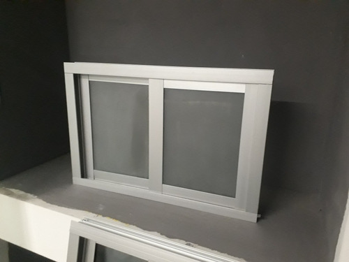 Imagen 1 de 2 de Ventana Aluminio 40x60 Natural