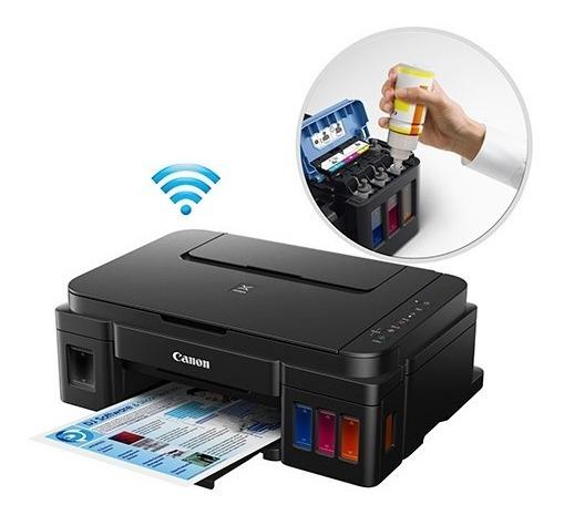 Impressora Com (erro 006) - Oportunidade - Canon G3100 Multifuncional Maxx Tinta Wi-fi - Bulk - Mega Tank G3100