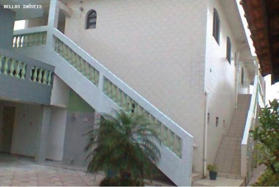 Salão Comercial Para Locação Em Itanhaém, Jardim Comendador, 5 Dormitórios, 2 Suítes, 4 Banheiros, 7 Vagas - 393