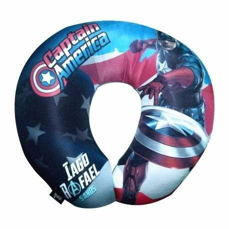 40 Lembrancinhas Almofadas Pescoço Vingadores Avengers