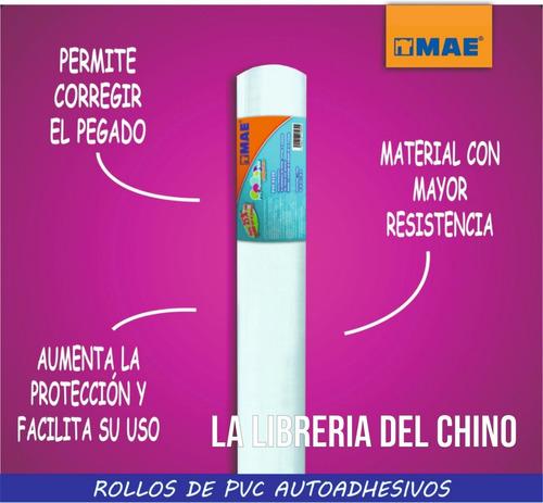 Imagen 1 de 3 de Contact Transparente Pvc Autoadhesivo 10m X 45cm - Rosario